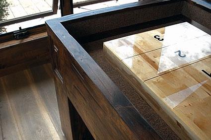 Drawknife, Rustic, Western, Custom, Pool Tables, Billiard Tables, Log,